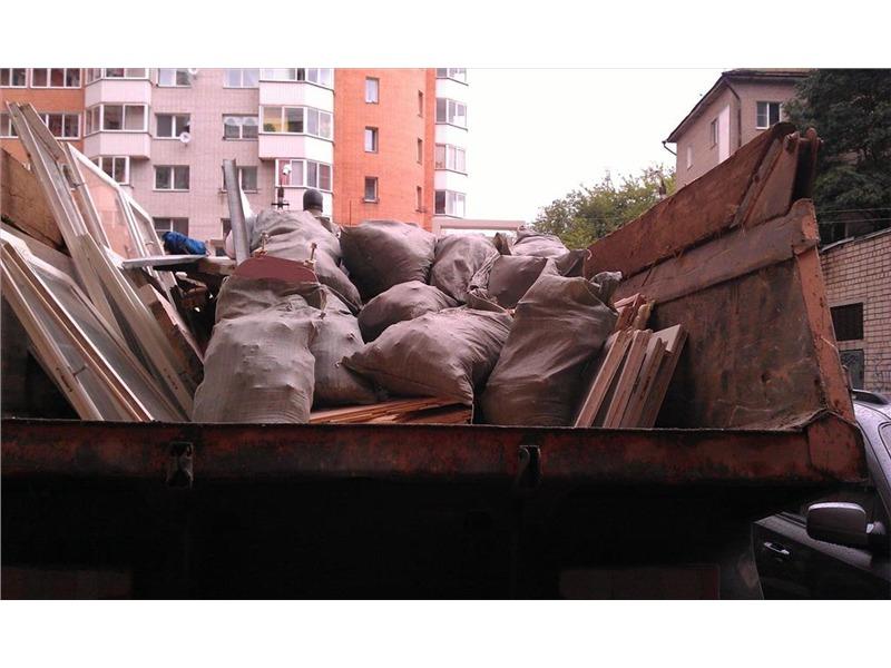 вывоз мусора область